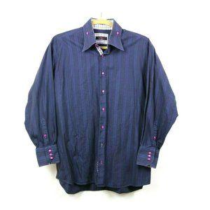 Axxess Mens Dress Shirt Button Down Long Sleeve